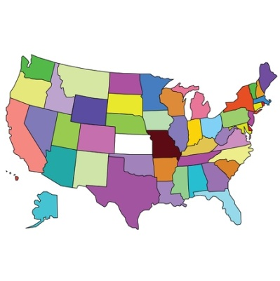 13351930 - map of united states of america