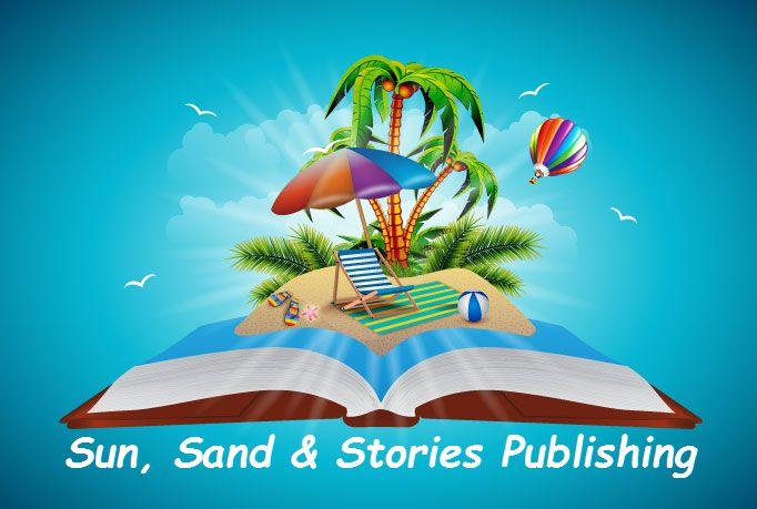 logo for sunsandstoriespublish